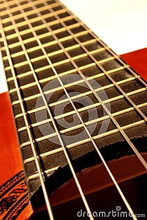 Chaînes de caractères de guitare