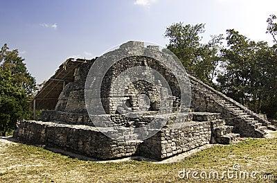 Chacchoben Mayan Temple near Costa Maya Mexico