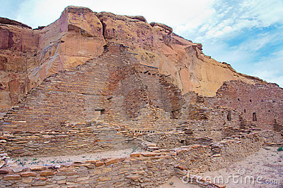 Chaco Culture ruins