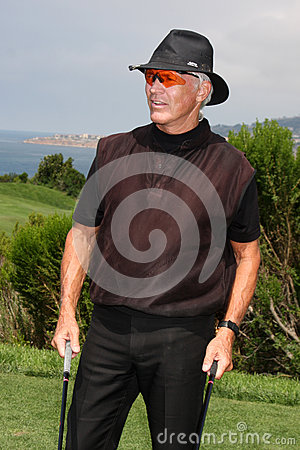 Chad Everett LAPD Annual Golf Tournament Editorial Stock Image