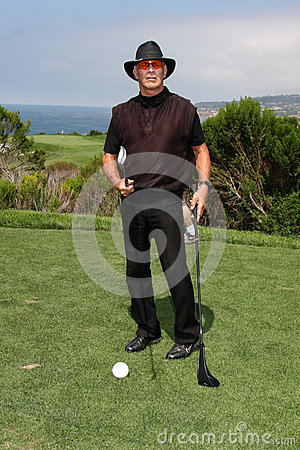 Chad Everett LAPD Annual Golf Tournament Editorial Photo