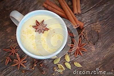 Chai tea with anise