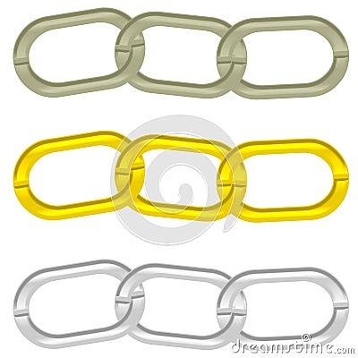 Chain 3 links