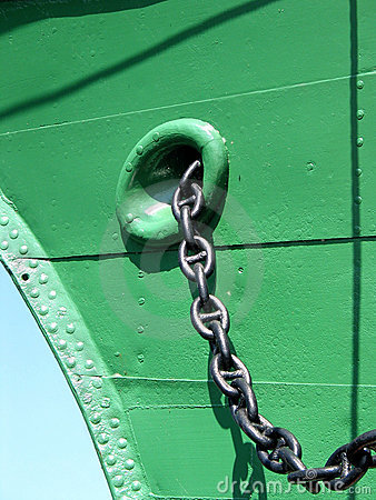 Chain of the anchor