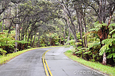 Chain of Craters Road, Hawaii Volcanoes National P