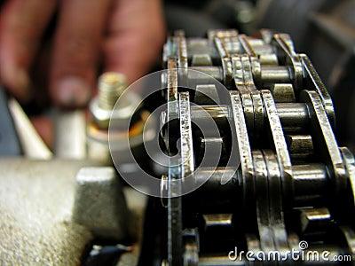 Chain-drive