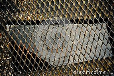 Chain Fence rusty