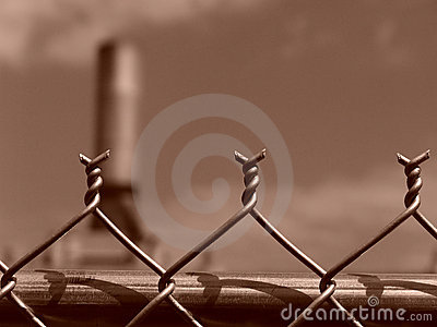 Chain Link Fence Barbs