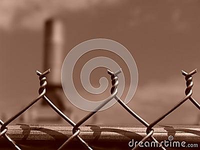 Chain Link Fence Barbs