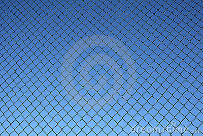 Chain link fence pattern