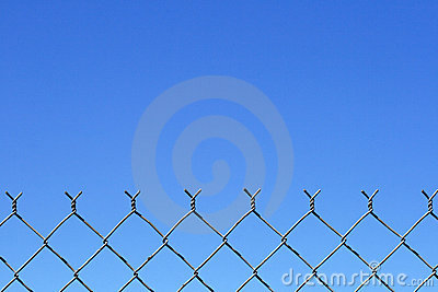 Chain link fence top