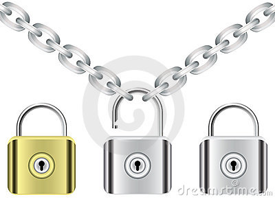 Chain and locks