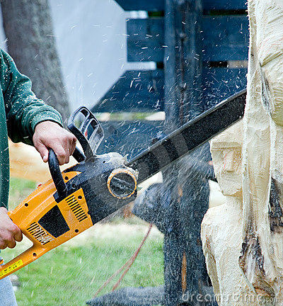 Free Chain Saw Stock Images - 6001724