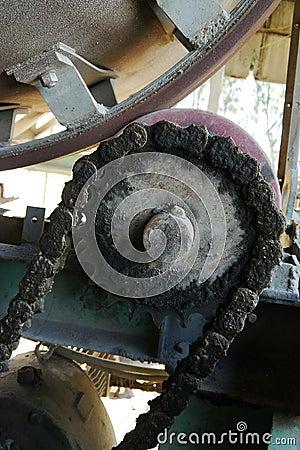 Chain sprockets,Asphalt plant , thailand