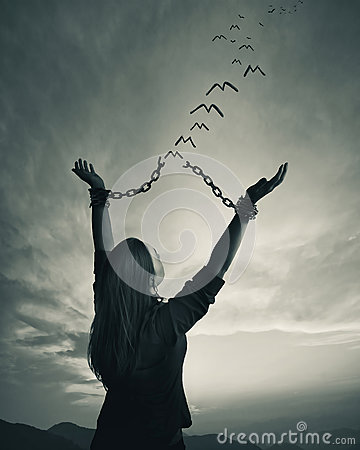 Free Chains And Freedom Royalty Free Stock Photography - 91129847