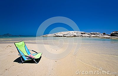 Chair in the beach