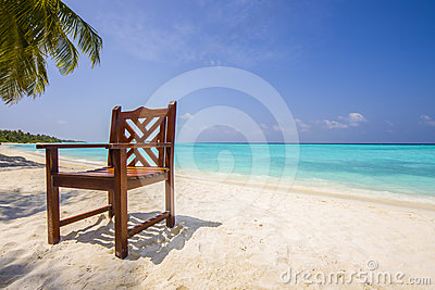 Chair at the beach