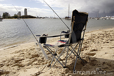 Chair for fishing