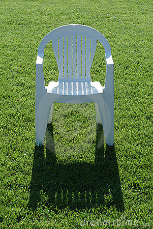 Chair on grass