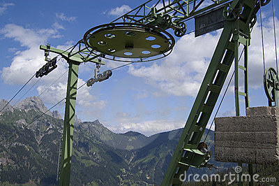 Chair Lift Wheel