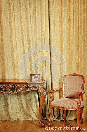 Chair Near The Table