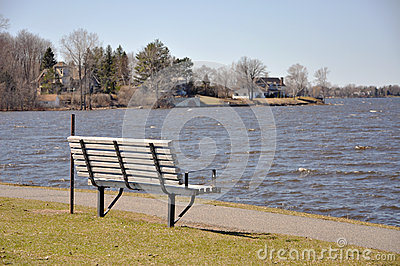 Chair on the Riverside