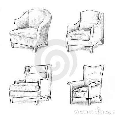 Chair sketching