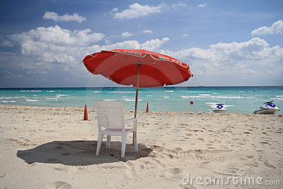 Chair on south Beach