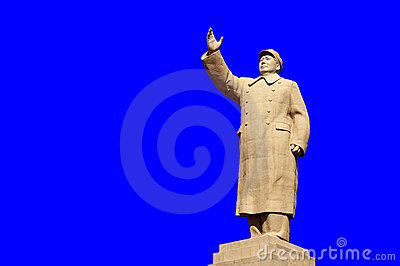 Chairman Mao s Statue Editorial Stock Image