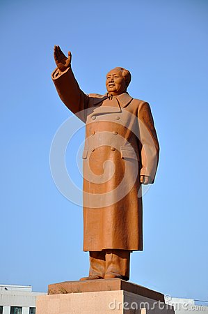 Chairman Mao Statue, Shenyang, China