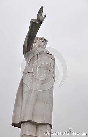 Chairman Mao Ze Dong statue