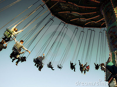 Chairoplane 2 Editorial Photography
