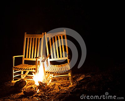 Chairs Afire