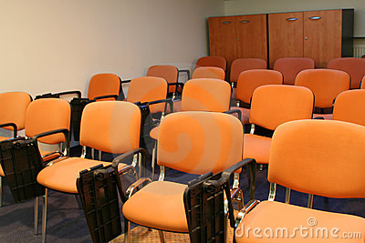 Chairs in bussiness room