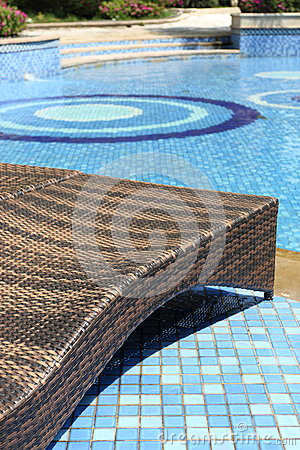 Free Chairs By The Pool Stock Images - 53527474