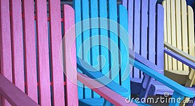 Chairs färgrikt