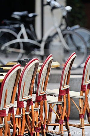 Free Chairs In Bistro Stock Photos - 21821653