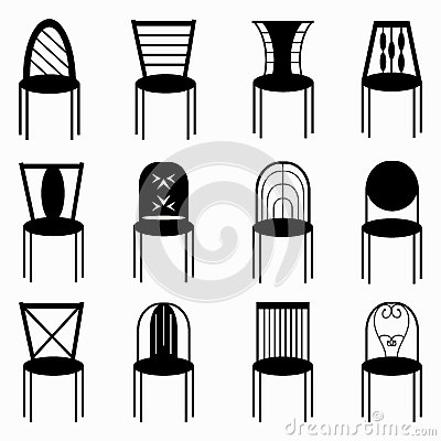 Ergonomic also Previous likewise Lounge Chair 2d Cad Drawing besides Stock Illustration Chairs Monochrome Symbols Collection Vector Illustration Eps Image62377149 in addition Neufert. on folding table chairs