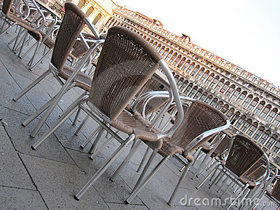 Chairs in Saint Marks Square
