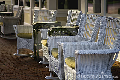 Chairs at Sunset