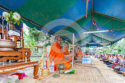 CHAIYAPHUM,THAILAND May 15 : Unidentified thai Editorial Image