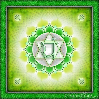 Free Chakra Anahata Royalty Free Stock Photos - 10628148