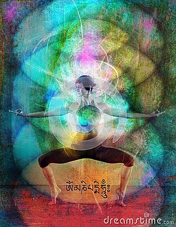 Free Chakra Energy Field Royalty Free Stock Photos - 10578128