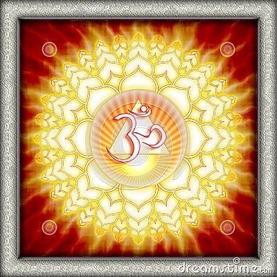 Free Chakra Sahasrara Royalty Free Stock Photo - 10628395