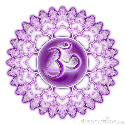 Free Chakra Sahasrara Purple Isolated Royalty Free Stock Image - 20053566