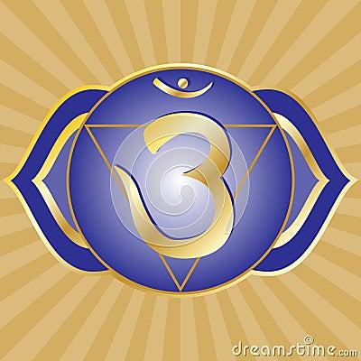 Free Chakra Series: Ajna Royalty Free Stock Photography - 11855027