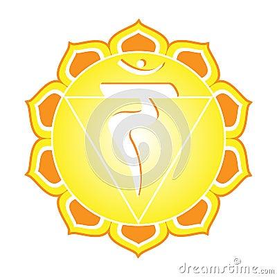 Free Chakra Series: Manipura Royalty Free Stock Images - 11854859