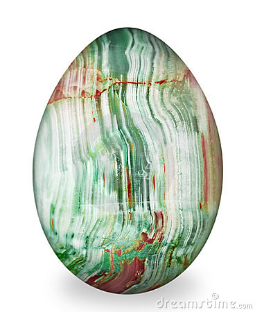 Free Chalcedony Egg. Stock Images - 13397904