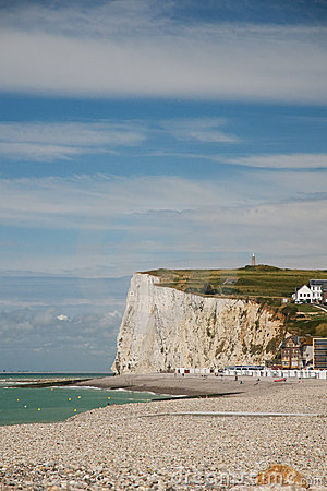 Chalk cliffs