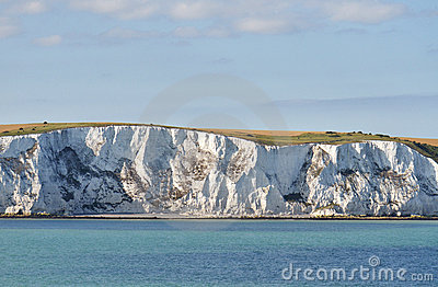 Chalk cliffs near Dover